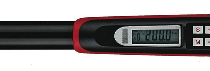 "1/2"" - DIGITAL TORQUE WRENCH 20-200Nm (Teng Tools)"