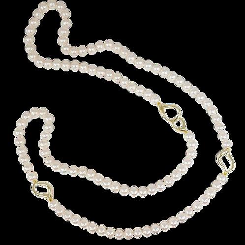 Akoya Rope Necklace