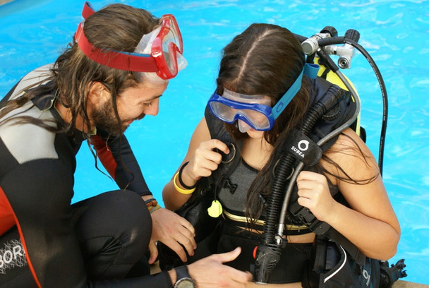 Bautismo buceo