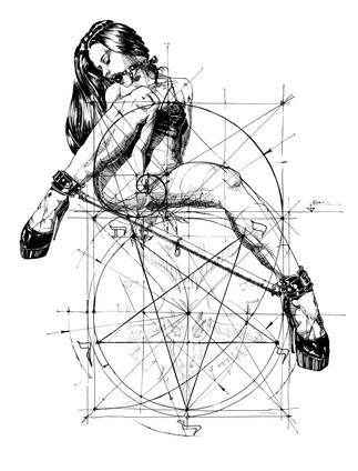 Samael Lilith and the Golden Ratio