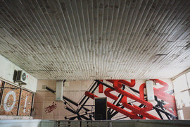 Pipes And Structures In the Pool