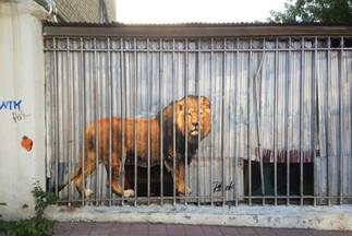 "Lion, ""City Cats"" series"