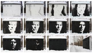 Interactive Portrait of David Bowie