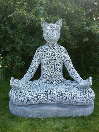 Tikhvami, Meditating Cat
