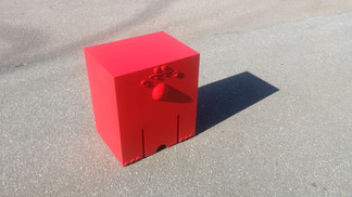 Red Cube (Another angle)