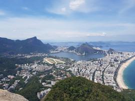 La vue sur tout Rio !