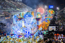 defiler pour le carnaval rio