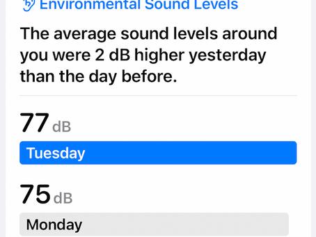 iPhone Health - Hearing & Sleep