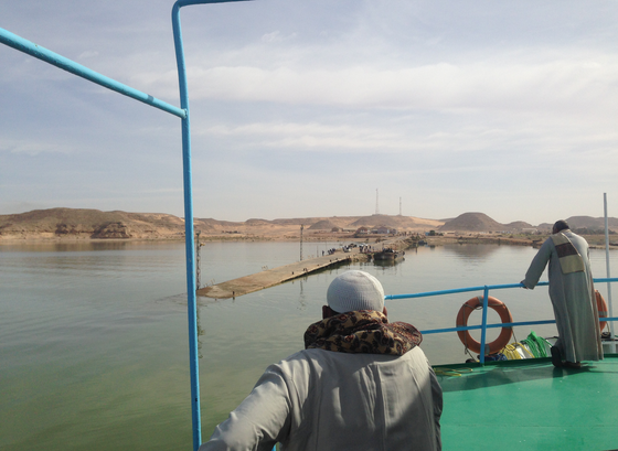 Ferry to Wadi Halfa