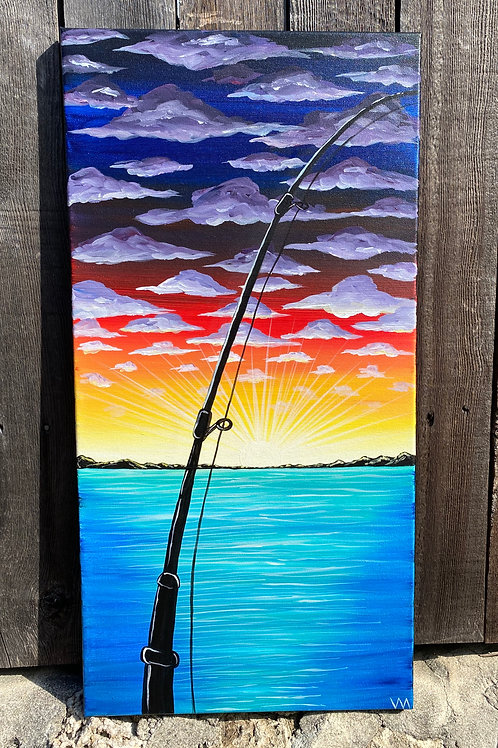 """Fishing the Sunrise"""