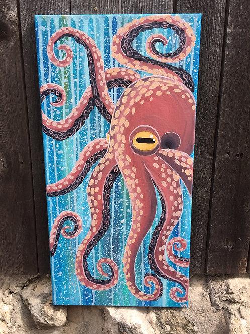 """""""Octopus Underwater"""""""