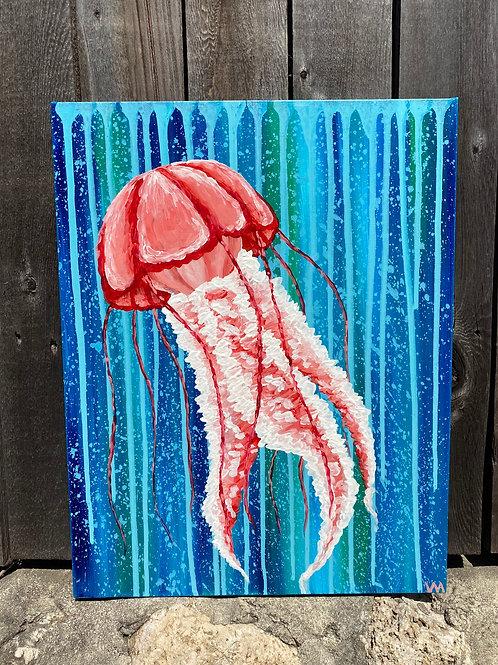 """""""Jellyfish Underwater"""""""