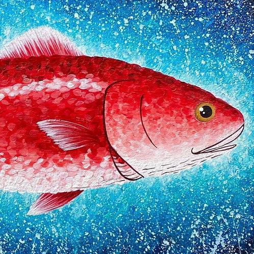 """Red Fish Splash"""