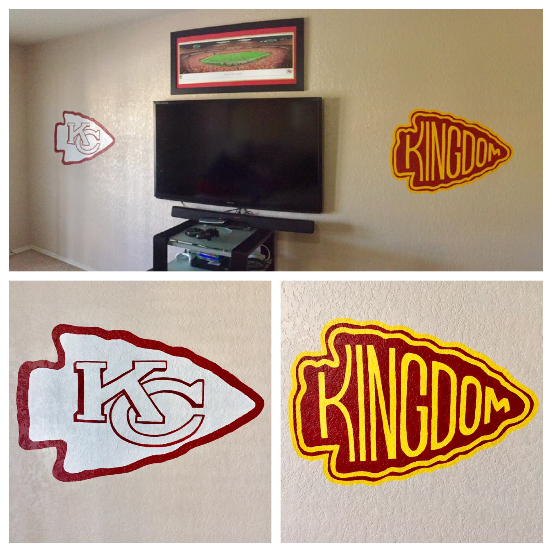 Chiefs Arrowheads