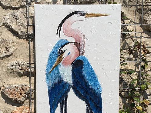 """""""2 Blue Herons"""""""