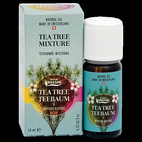 Olio essenziale di albero del tè con manuka e kanuka