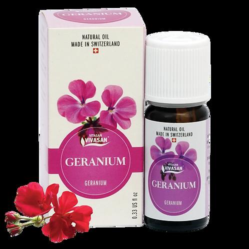 Olio essenziale di geranio rosato
