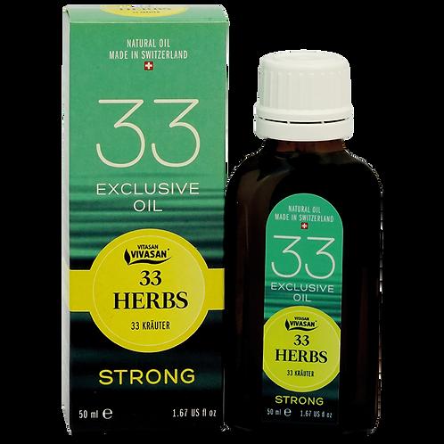 Olio essenziale 33 erbe Strong