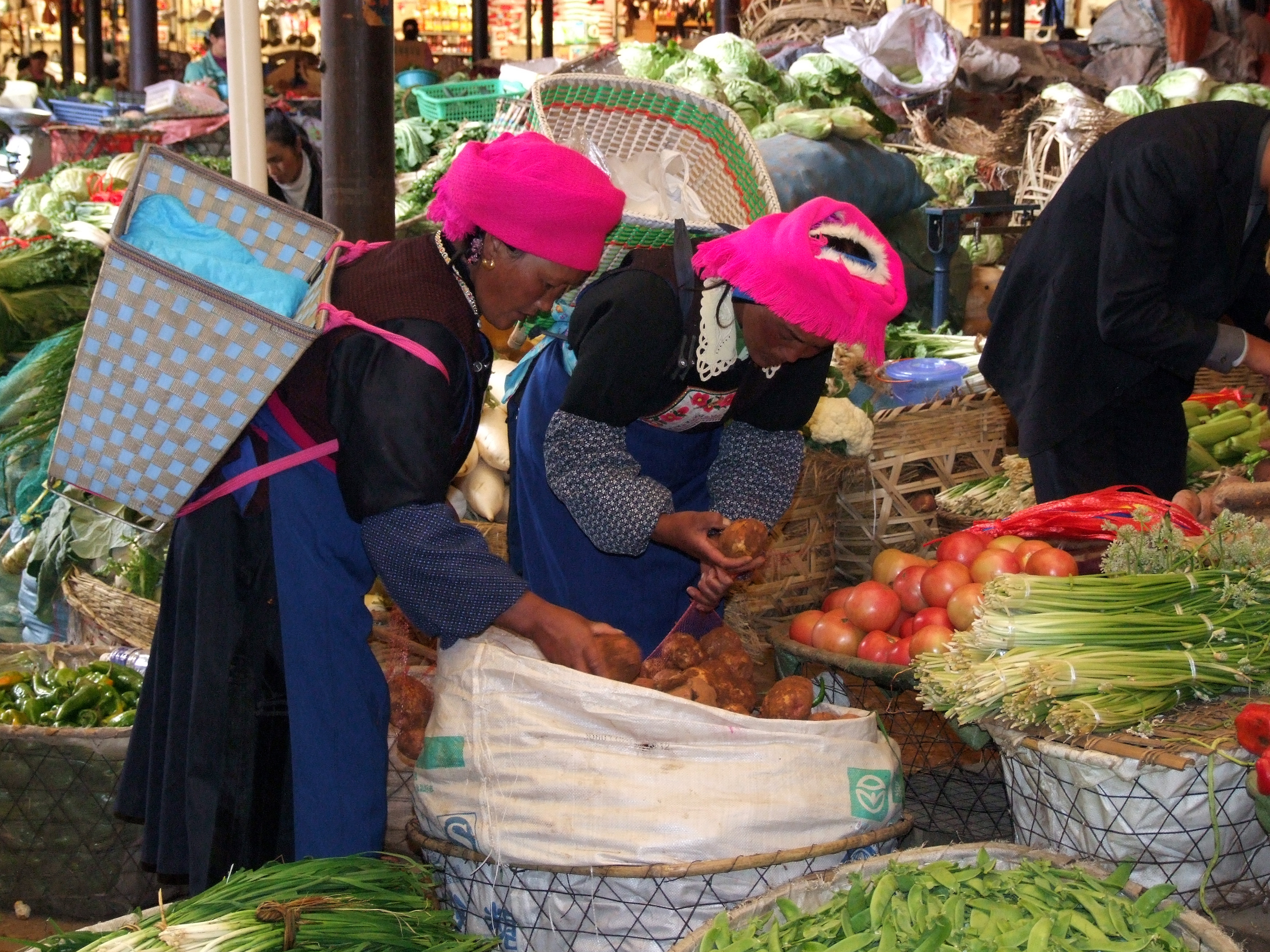 market ladies