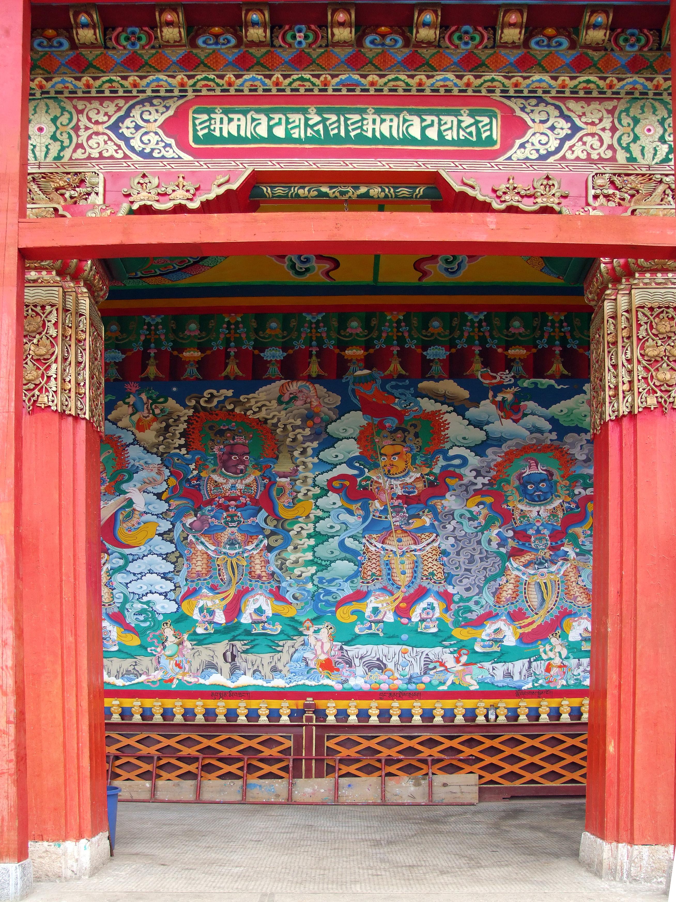 monastery temple entrance