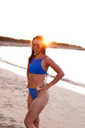 Blue Lagoon - Crop Bikini Set