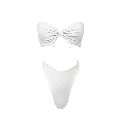 Tequila - V cut bikini in White