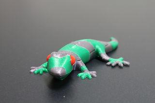 3D Printed Multi Material Gecko
