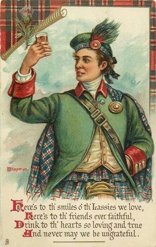 A Scottish toast