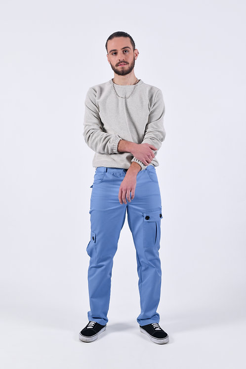 Cargo Blue Trousers