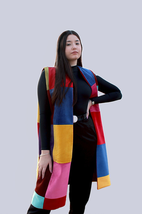 Sustainable coloured vest