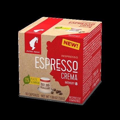 Capsule INSPRESSO BIODEGRADABILE  Espresso Crema
