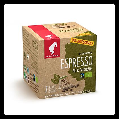 Capsule INSPRESSO BIODEGRADABILE Espresso Bio & Fairtrade