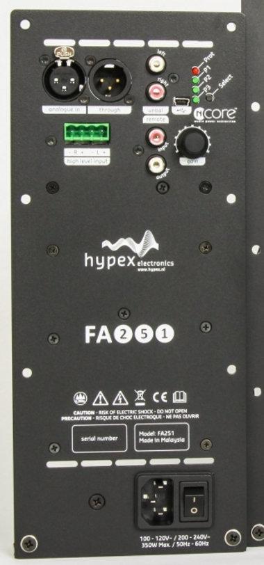 Plate amp 250 ou 500W