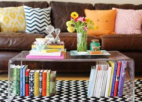 10 Maneiras de Decorar com Livros e Revistas
