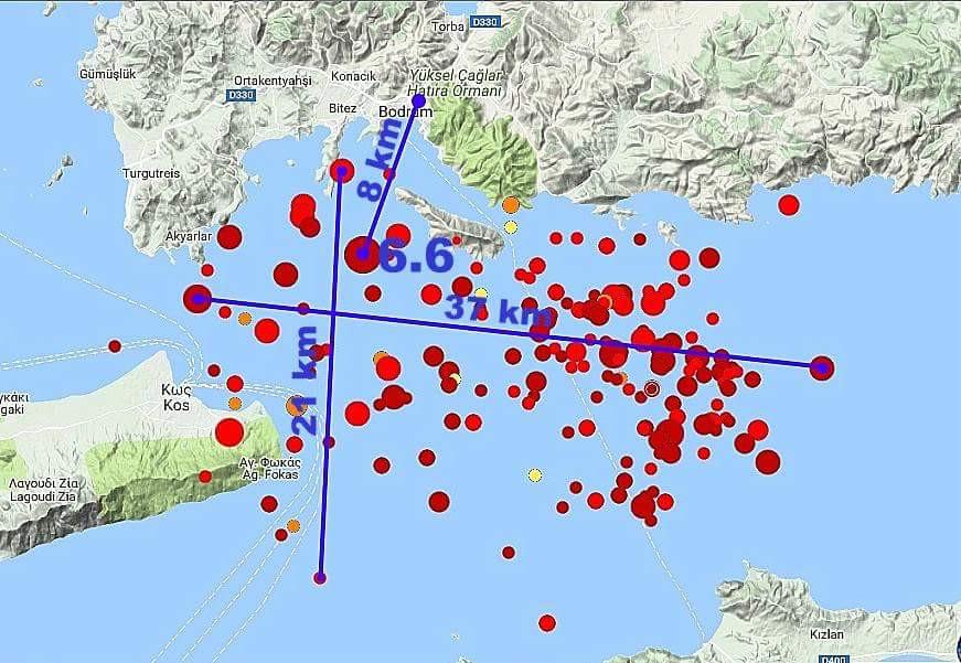 20 Temmuz 2017 Bodrum depremi