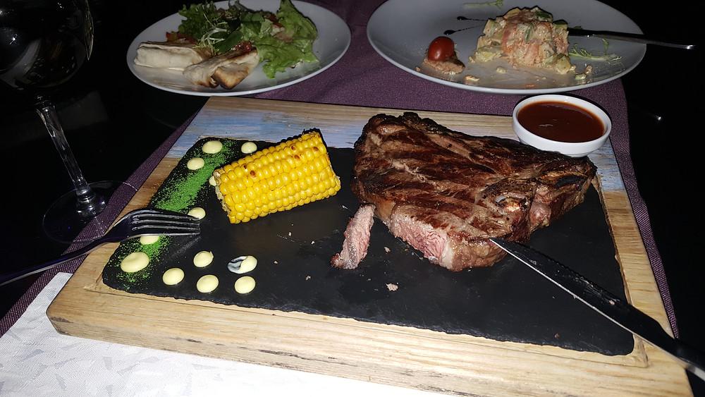 Panorama Restaurant  akşam yemeği