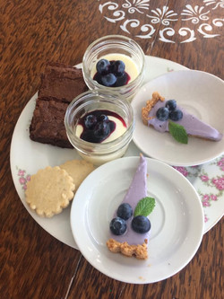 Lavender sweets
