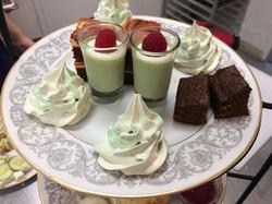 Christmas tea desserts 2018