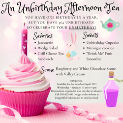 An Unbirthday Tea Party updated font