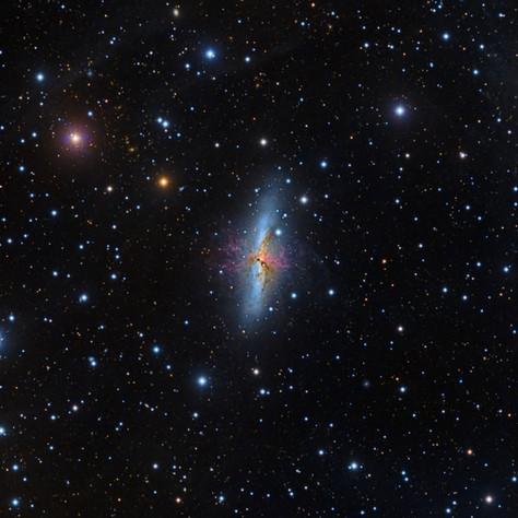 M82 The Cigar Galaxy