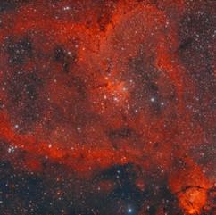 IC 1805 Nebulosa Del Corazón En Casipea