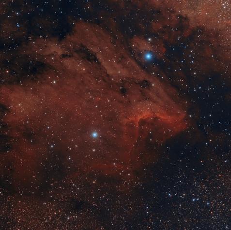 IC 5070 La Nebulosa del Pelícano.