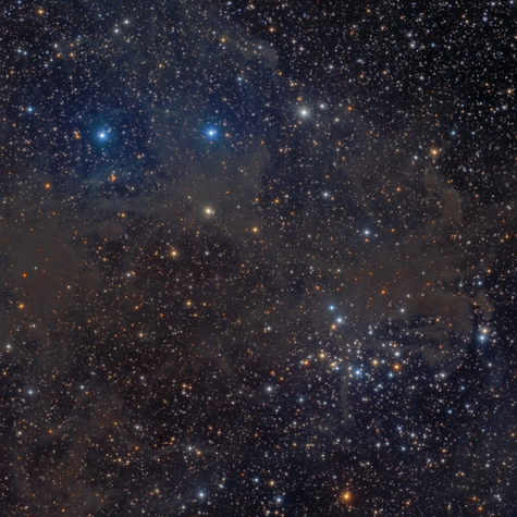NGC 1342 Cumulus with Mistiness