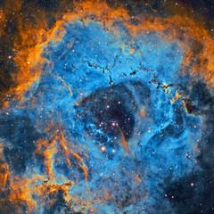 NGC 2244 Detalles en la Nebulosa Roseta