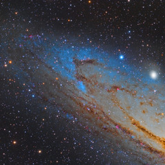 NGC206 and part of M31