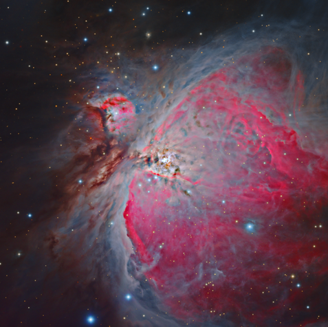 M42 and M43 Star Nursery in Orion