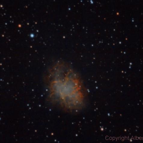 M1 Nebulosa del Cangrejo