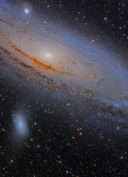 M31, M32 Y M110