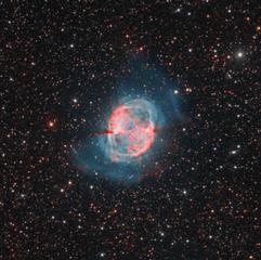 M27 Mebulosa de la Mancuerna HORGB