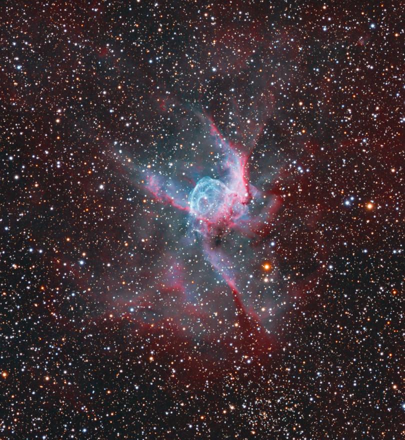 NGC 2359 Thor's Helmet HORGB